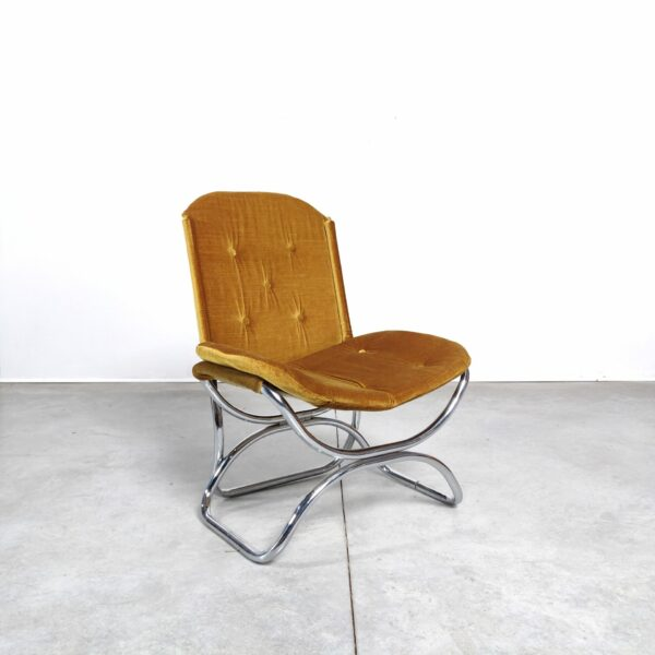 Mid Century Fauteuil Buisframe